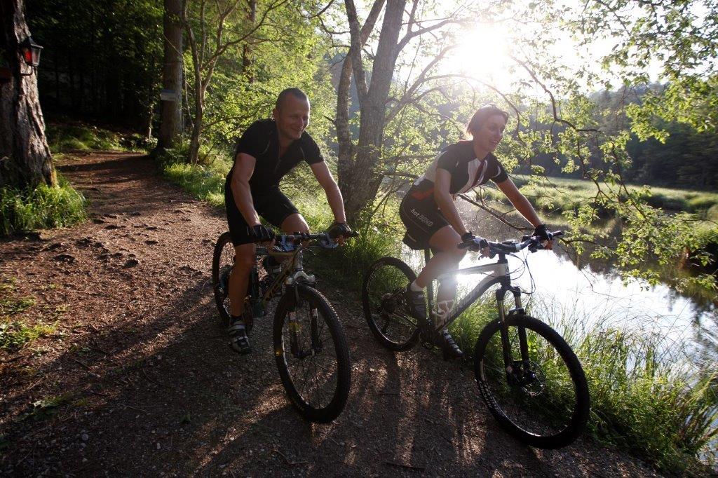 bike tour am tristachersee