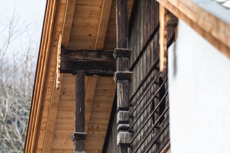 alter Holzbau