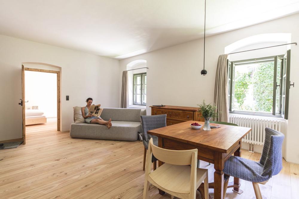 Wohnzimmer in Ferienwohnung
